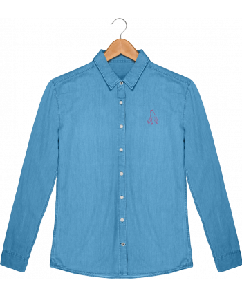 Shirt Men Stanley Innovates Denim Main Famille Adams by tunetoo