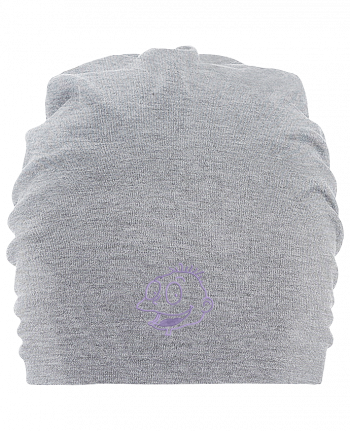 Hemsedal oversized cotton beanie Razmoket brodé by tunetoo