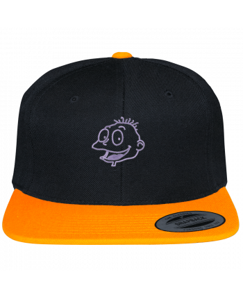 Snapback cap two-one varsity Razmoket brodé by tunetoo