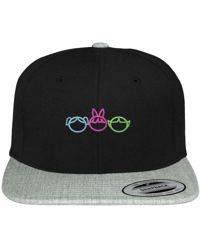 Snapback cap two-one varsity Les Supers Nanas brodé by tunetoo