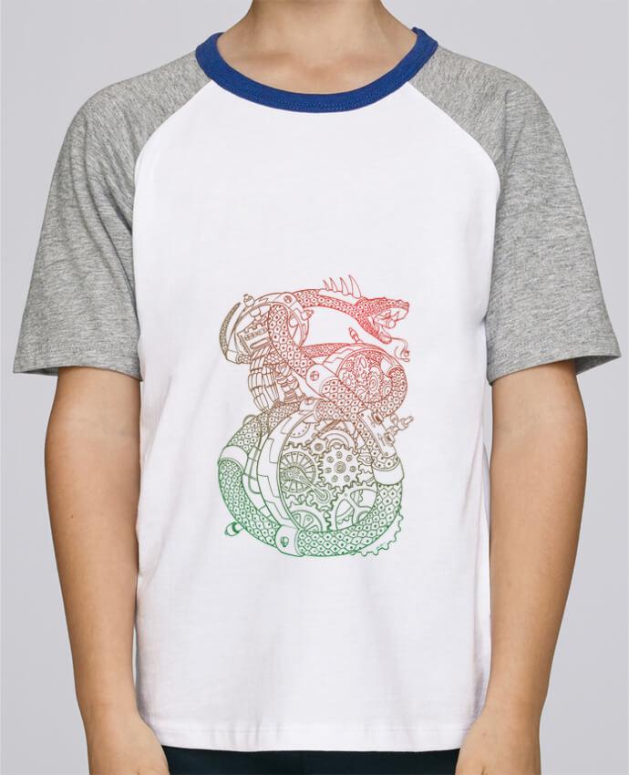 Tee-Shirt Child Short Sleeve Stanley Mini Jump Méca Serpent by Tomi Ax