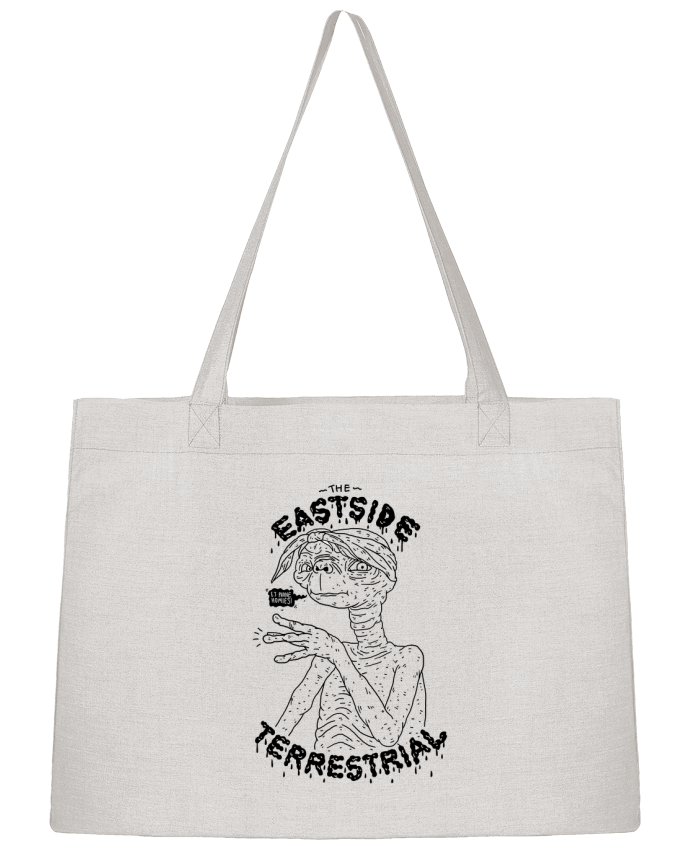 Shopping tote bag Stanley Stella Gangster E.T by Nick cocozza