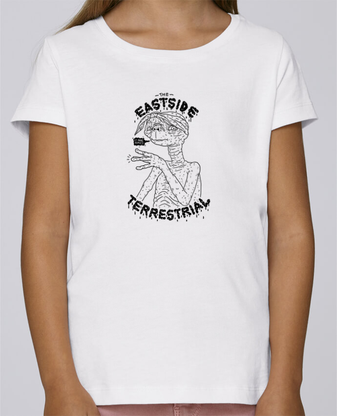 T-shirt Women Stella Draws Gangster E.T by Nick cocozza