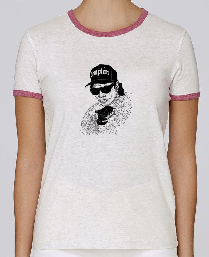 T-shirt Women Stella Returns Eazy E Rapper pour femme by Nick cocozza