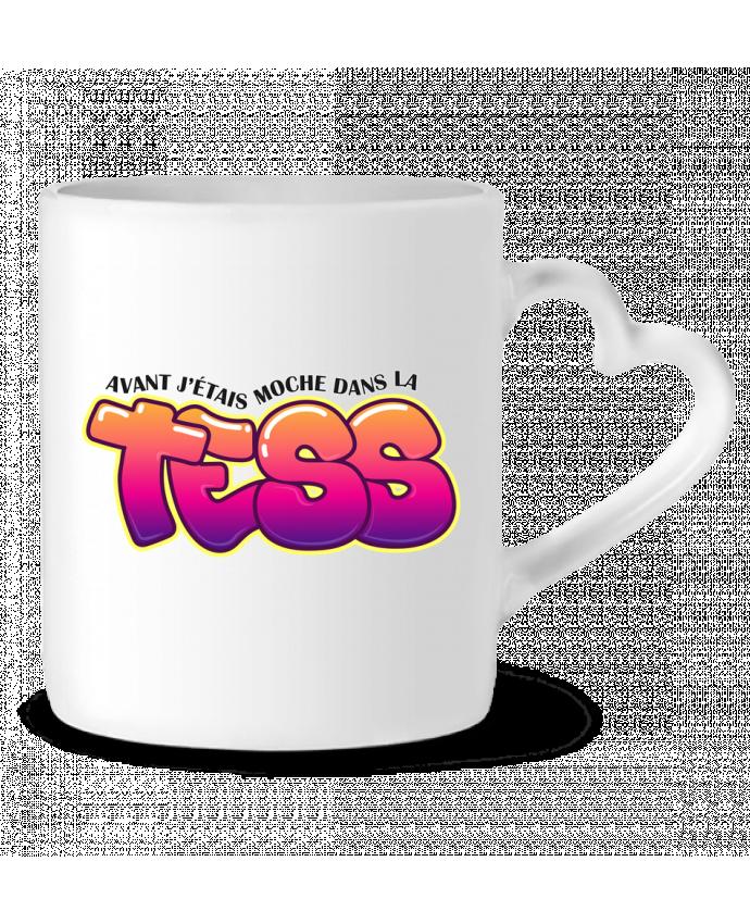 Mug Heart PNL Moche dans la Tess by tunetoo