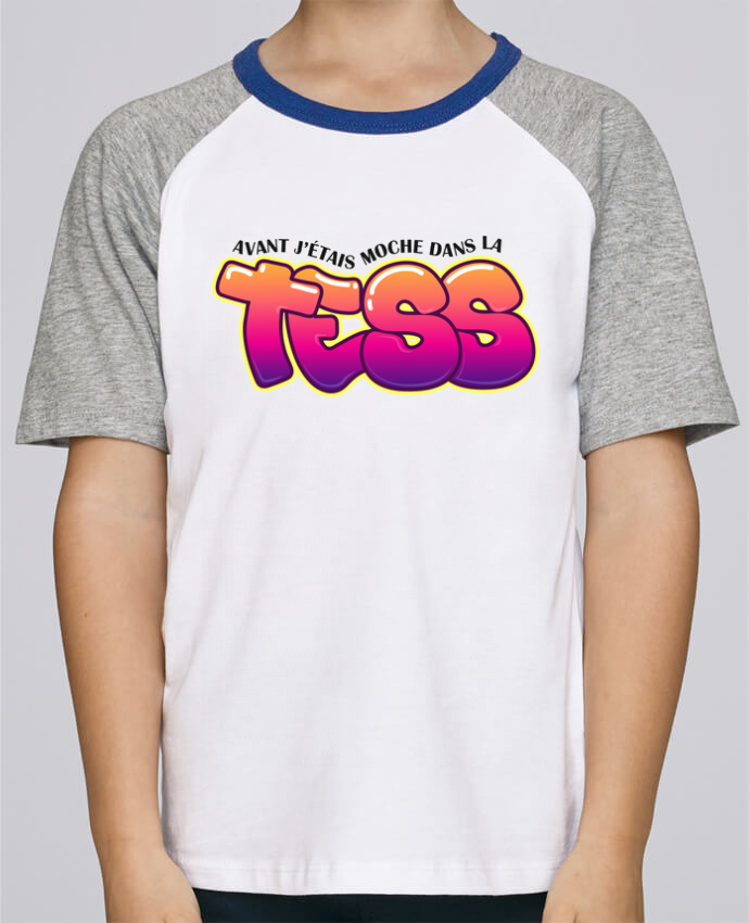 Tee-Shirt Child Short Sleeve Stanley Mini Jump PNL Moche dans la Tess by tunetoo