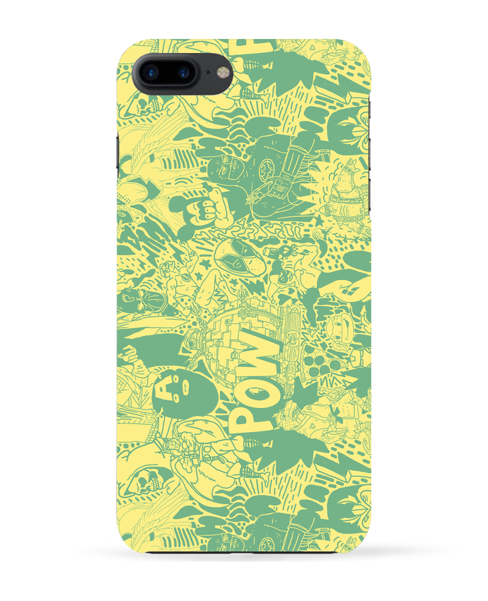 Case 3D iPhone 7+ Comics style Pattern by Nick cocozza