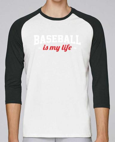 T-shirt Baseball crew-neck unisex stanley stella Baseball is my life by Original t-shirt
