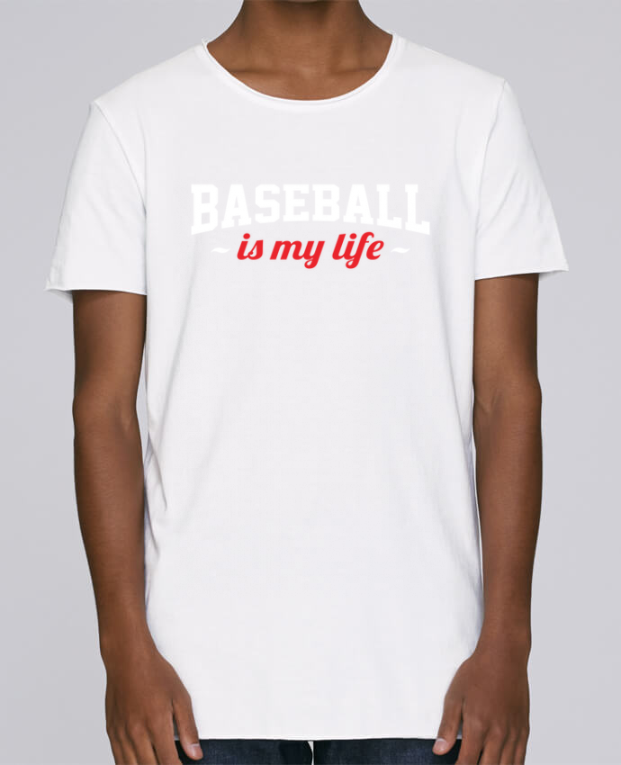 T-shirt Men Oversized Stanley Skates Baseball is my life by Original t-shirt