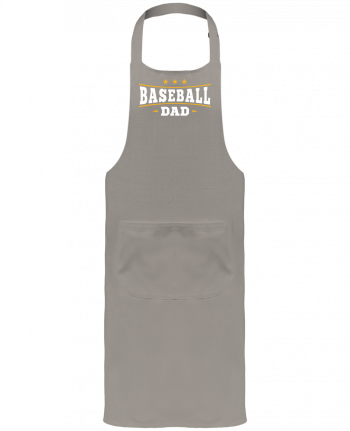 Garden or Sommelier Apron with Pocket Baseball Dad by Original t-shirt