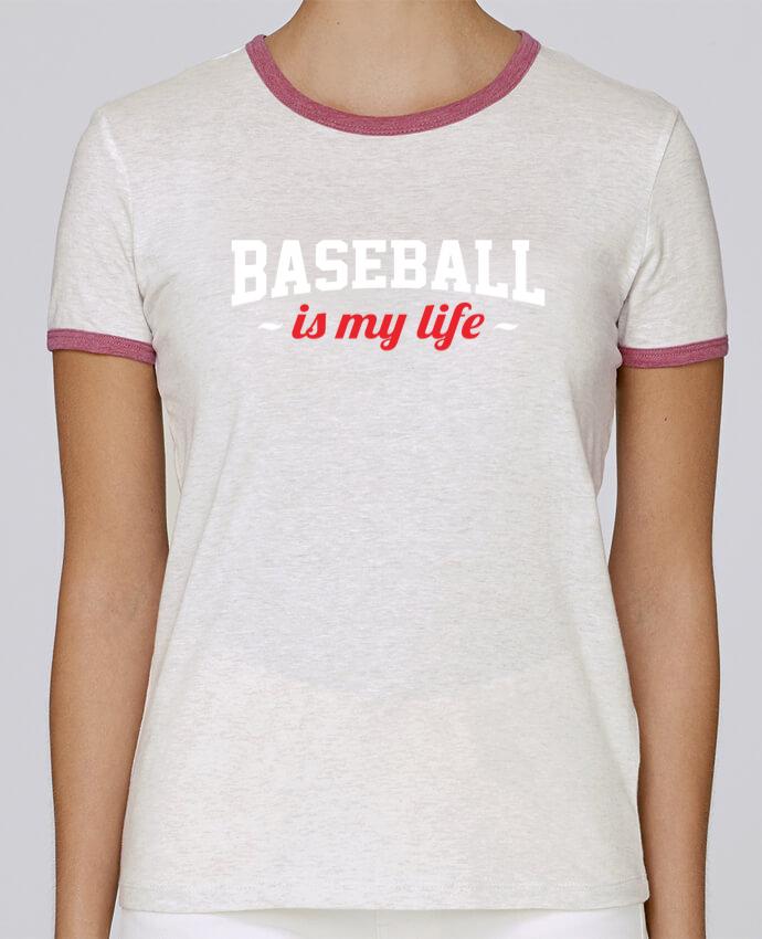 T-shirt Women Stella Returns Baseball is my life pour femme by Original t-shirt