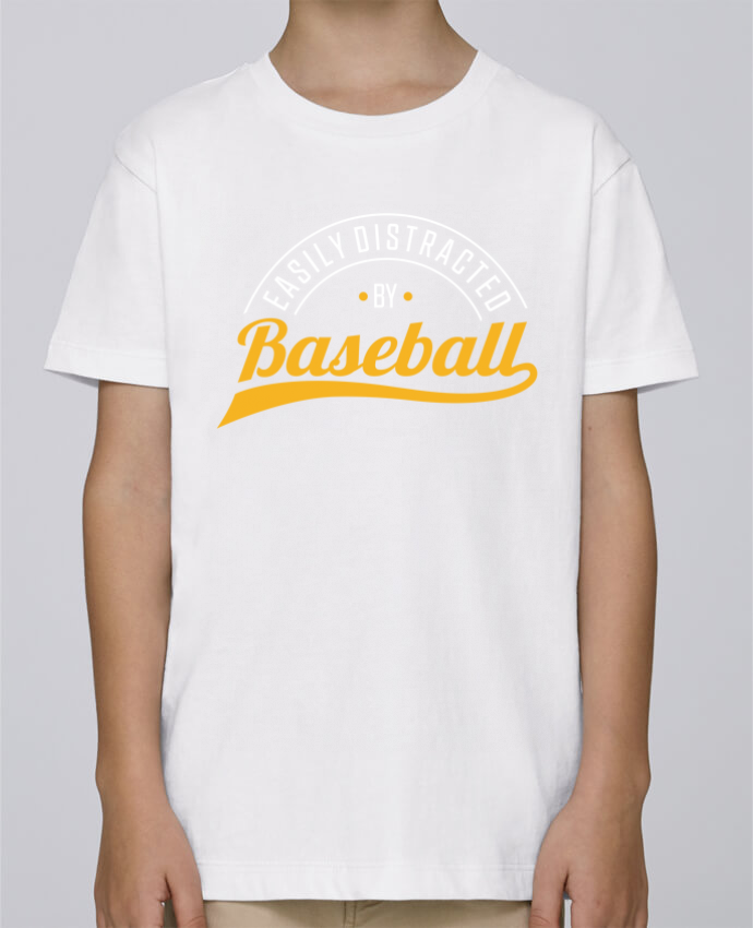 Tee Shirt Boy Stanley Mini Paint Distracted by Baseball by Original t-shirt