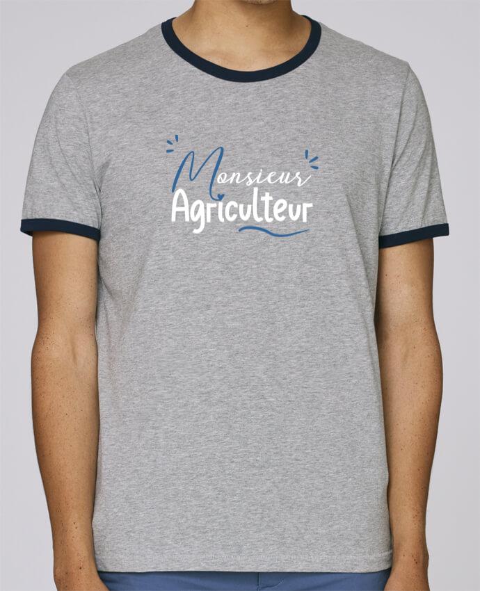 Stanley Contrasting Ringer T-Shirt Holds Monsieur Agriculteur pour femme by Original t-shirt