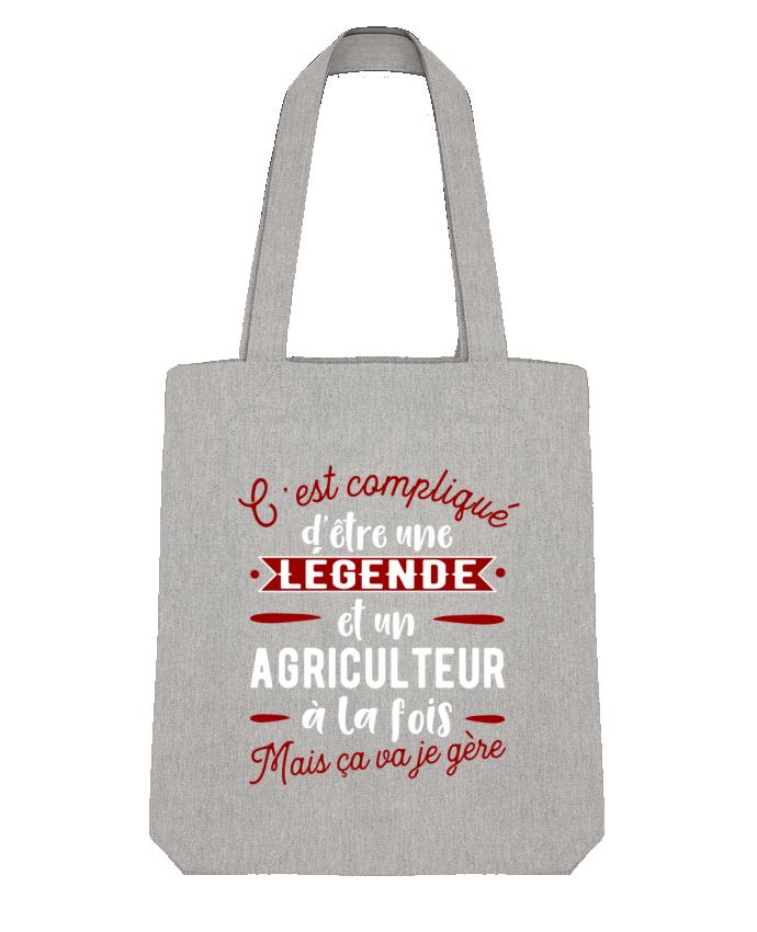Tote Bag Stanley Stella Légende et agriculteur by Original t-shirt