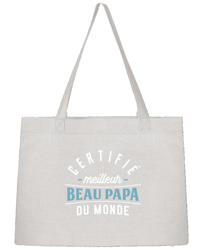 Shopping tote bag Stanley Stella Meilleur beau papa by Original t-shirt
