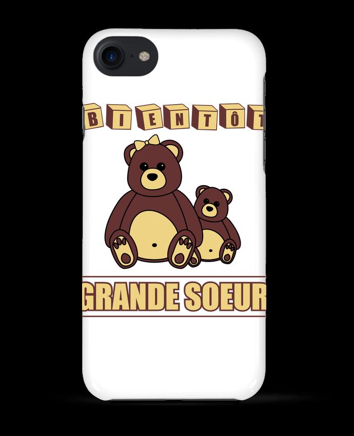Case 3D iPhone 7 Bientôt Grande Soeur de Benichan