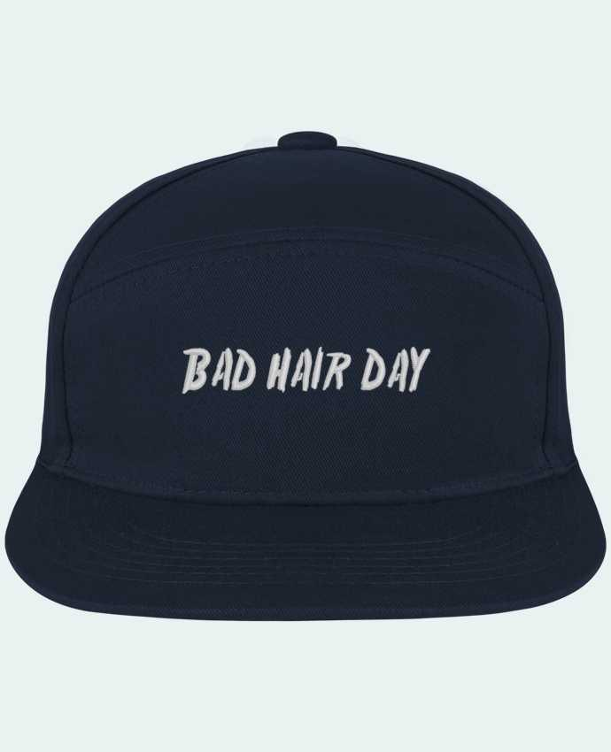 Snapback Cap Pitcher Bad hair day by tunetoo