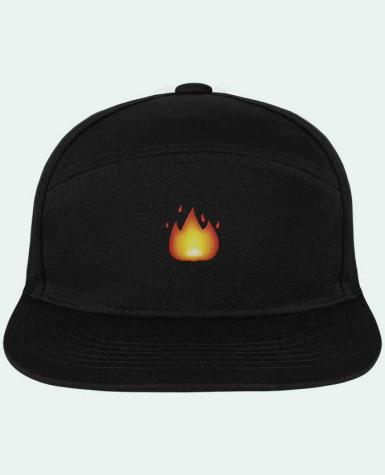Snapback Cap Pitcher Fire by tunetoo by tunetoo