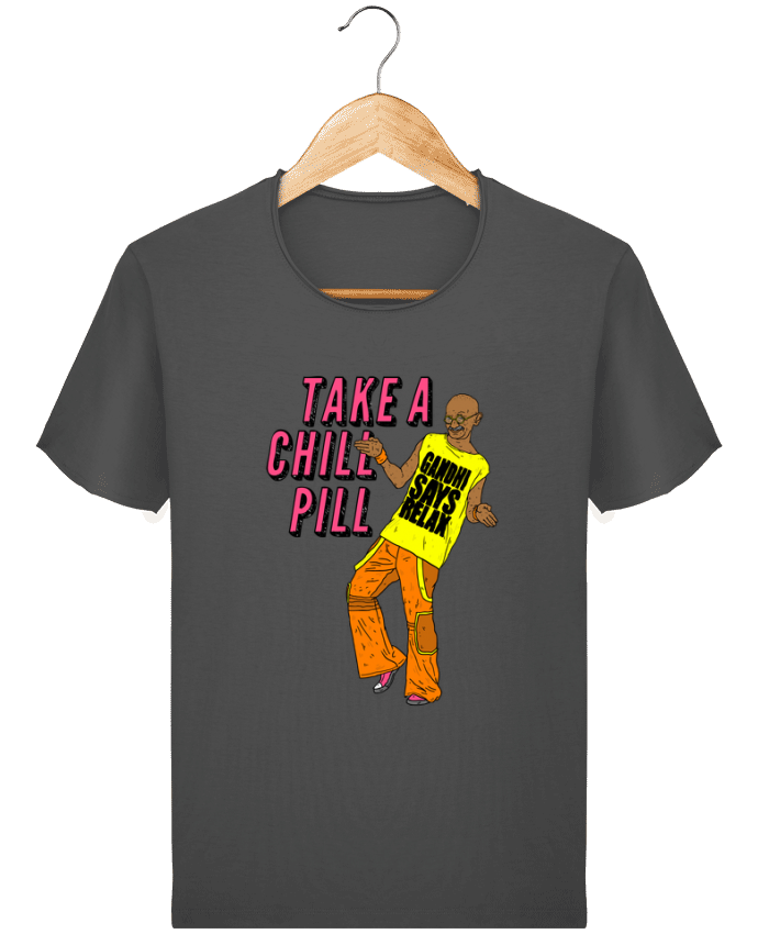 T-shirt Men Stanley Imagines Vintage Chill Pill by Nick cocozza