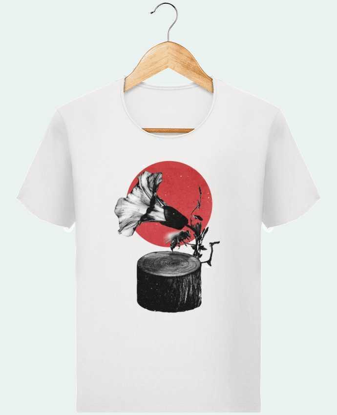 T-shirt Men Stanley Imagines Vintage Gramophone by ali_gulec