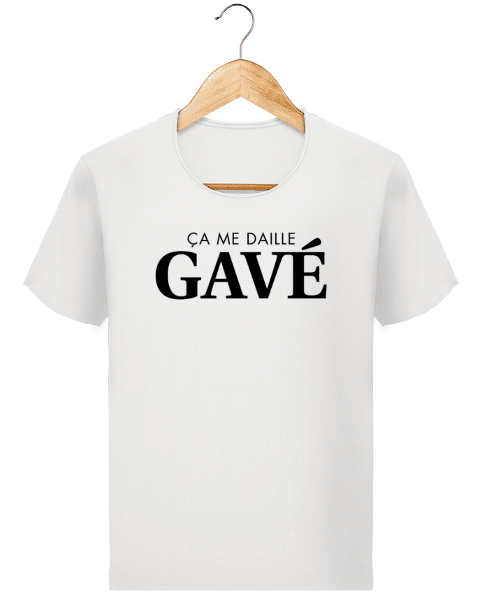 T-shirt Men Stanley Imagines Vintage ça me daille gavé by tunetoo
