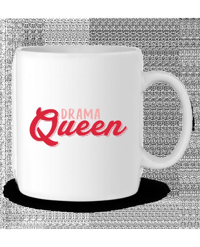 Ceramic Mug Drama Queen by tunetoo