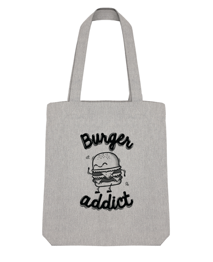 Tote Bag Stanley Stella BURGER ADDICT by PTIT MYTHO