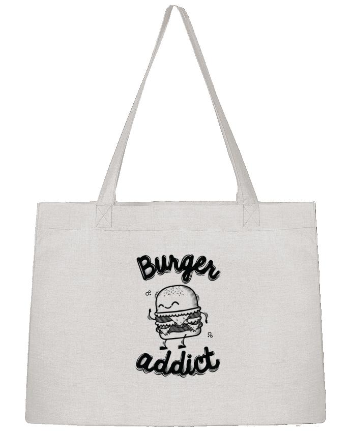 Shopping tote bag Stanley Stella BURGER ADDICT by PTIT MYTHO