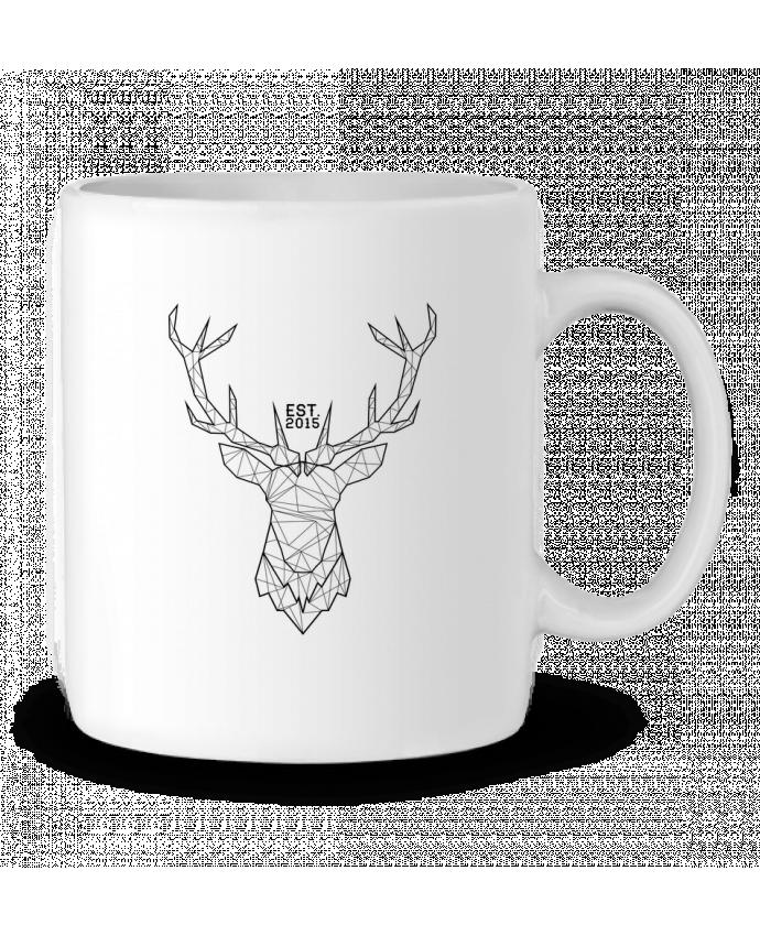 Ceramic Mug CERF GRAPHIQUE by PTIT MYTHO