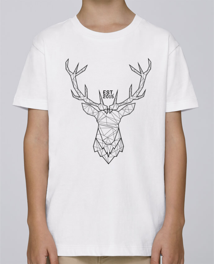 Tee Shirt Boy Stanley Mini Paint CERF GRAPHIQUE by PTIT MYTHO