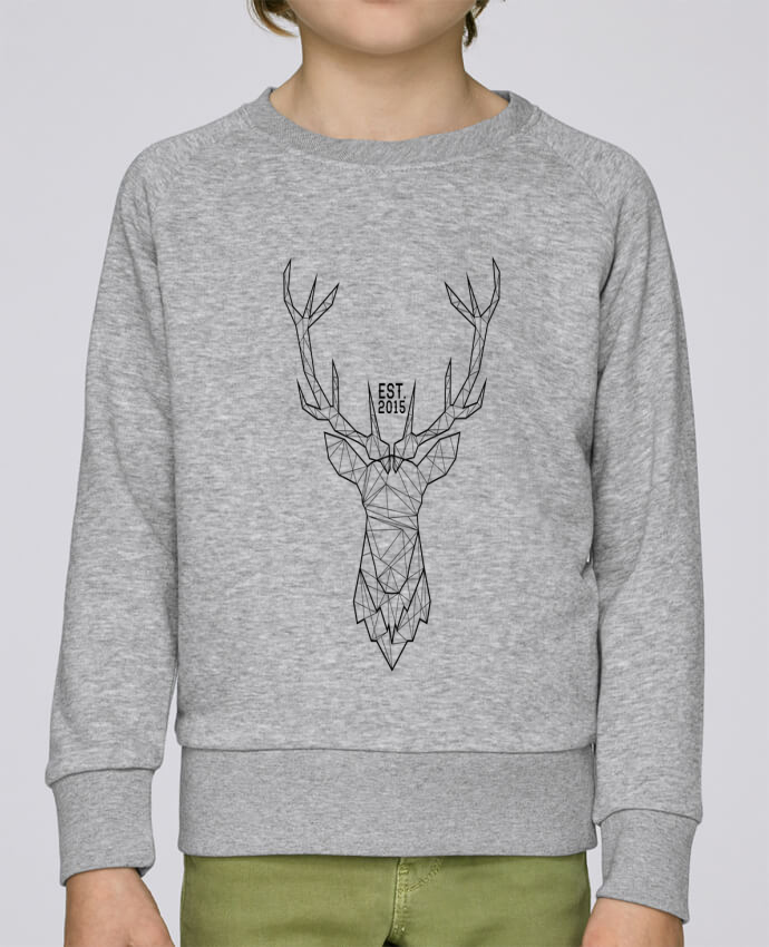 Sweatshirt Kids round neck Stanley Mini Scouts CERF GRAPHIQUE by PTIT MYTHO