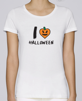 T-shirt Women Stella Loves I Love Halloween by tunetoo