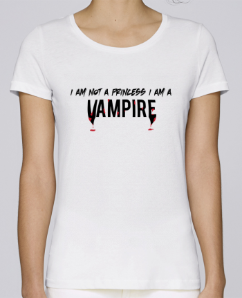 T-shirt Women Stella Loves I am a vampire by tunetoo