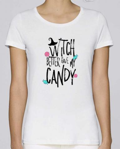 T-shirt Women Stella Loves Witch better have my candy by tunetoo
