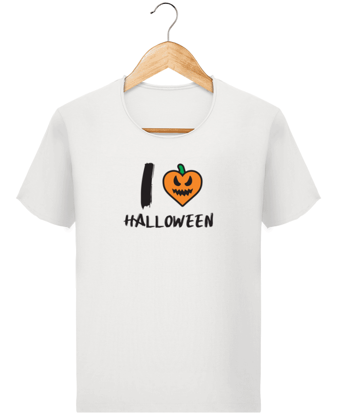 T-shirt Men Stanley Imagines Vintage I Love Halloween by tunetoo