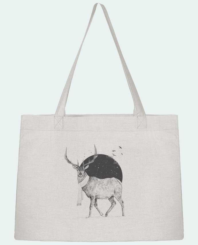 Shopping tote bag Stanley Stella Winter is all around by Balàzs Solti