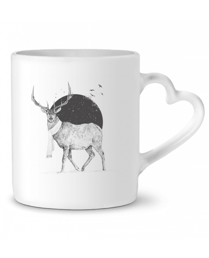 Mug Heart Winter is all around by Balàzs Solti