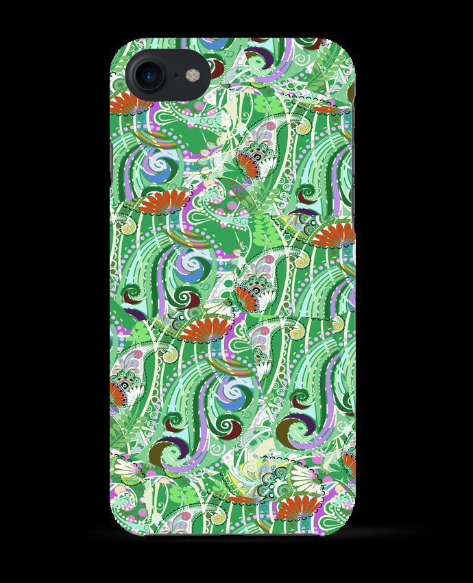 Case 3D iPhone 7 Paisley Mix 5 de L'Homme Sandwich