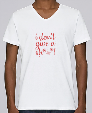T-shirt V-neck Men Stanley Relaxes I don\'t give a sh*** ! by Nana