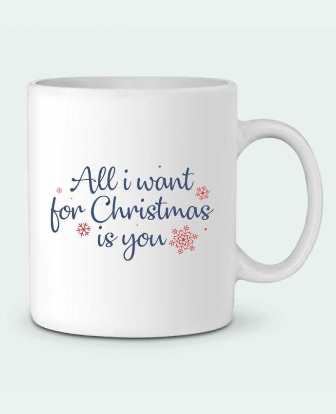Ceramic Mug All i want for christmas is you by Nana