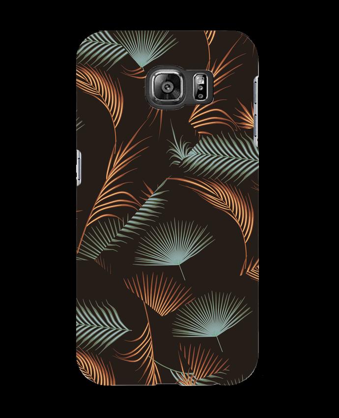 Case 3D Samsung Galaxy S6 Golden Palms - L'Homme Sandwich