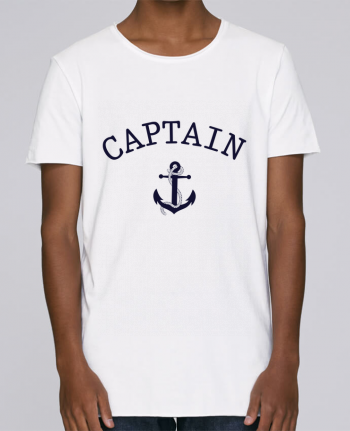 T-shirt Men Oversized Stanley Skates Capitain and first mate by tunetoo