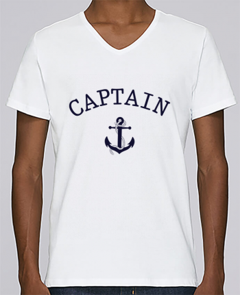 T-shirt V-neck Men Stanley Relaxes Capitain and first mate by tunetoo