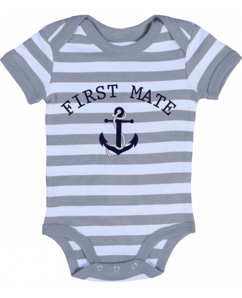 Baby Body striped Capitain and first mate - tunetoo