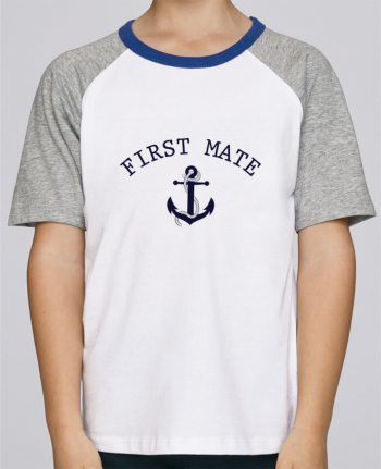 Tee-Shirt Child Short Sleeve Stanley Mini Jump Capitain and first mate by tunetoo