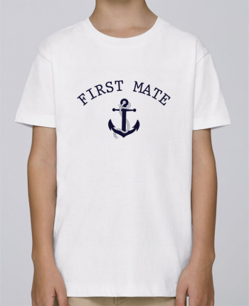 Tee Shirt Boy Stanley Mini Paint Capitain and first mate by tunetoo