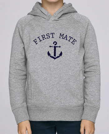 Hoodie Kids Stanley Mini Base Capitain and first mate by tunetoo