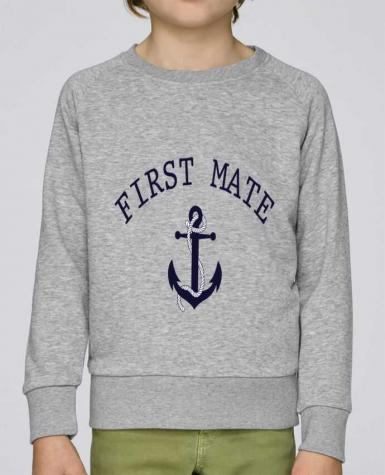 Sweatshirt Kids round neck Stanley Mini Scouts Capitain and first mate by tunetoo