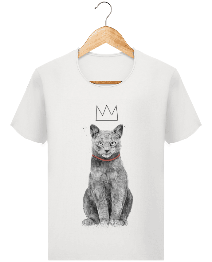 T-shirt Men Stanley Imagines Vintage King Of Everything by Balàzs Solti