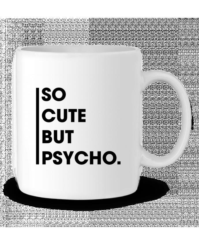 Ceramic Mug So cute but psycho. by tunetoo